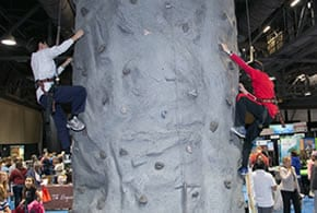Rock Wall - Travel Shows