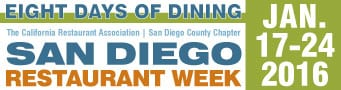 SD Restaurant Week – Small Rectangle Ad