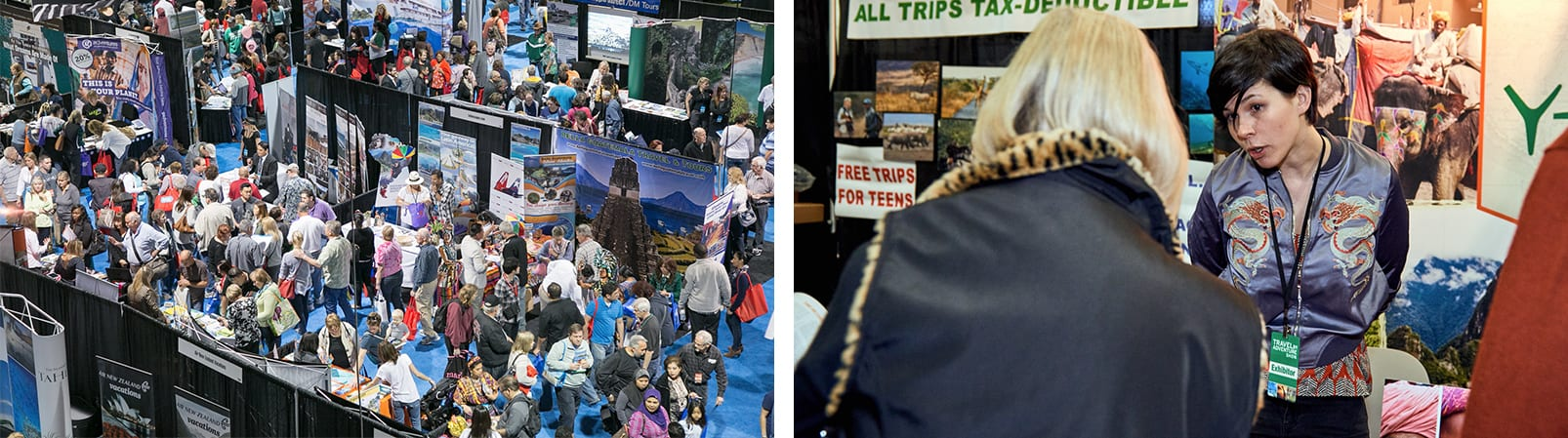 Travel Agents at The Travel & Adventure Show